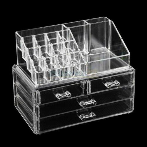Clear 4 Drawer Drawer