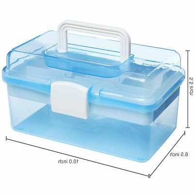 Clear w/Removable Tray
