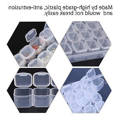Clear 28 Adjustable Storage Case Craft