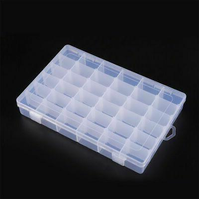 Clear Box Case Bead Grids