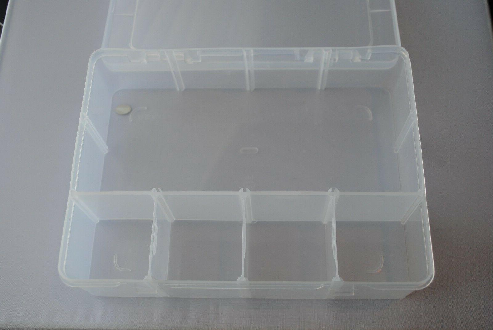 Clear Storage Box Car Tool Organizer