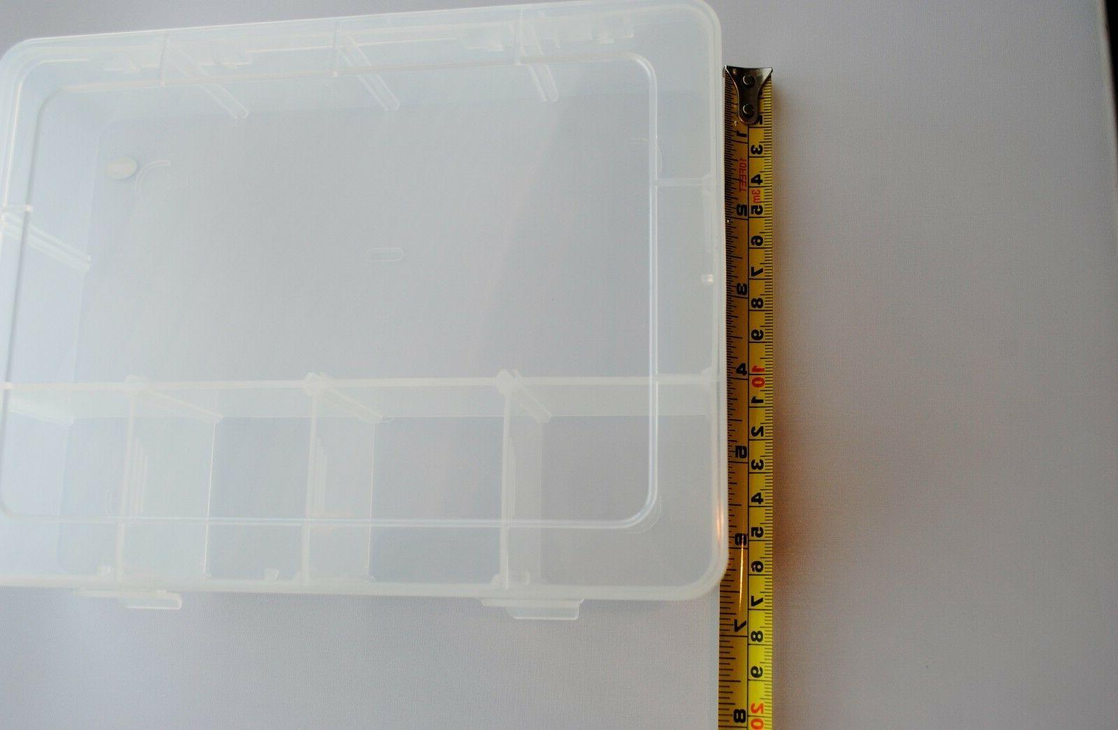 Clear Slots Storage Car Tool Case Organizer