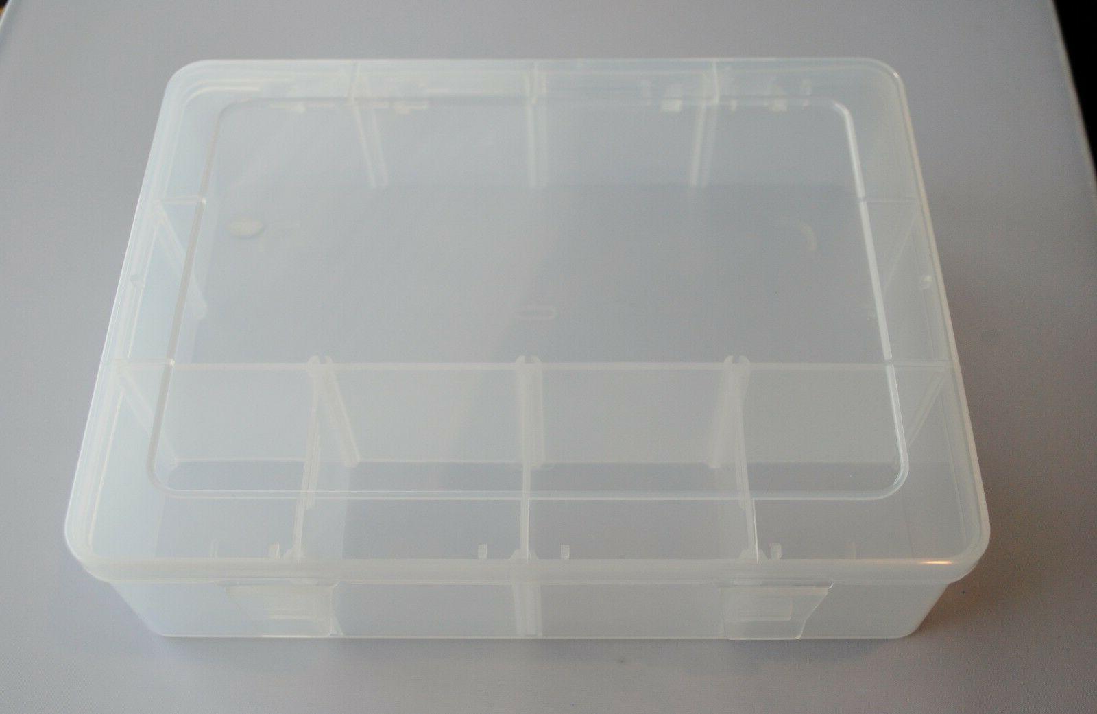 Clear Plastic Storage Car Tool Case