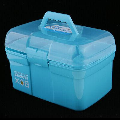 Clear Storage Case for Art Craft Supply, Tool,