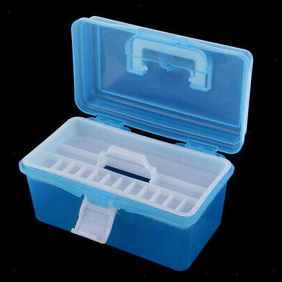 Clear Plastic Case Tray Craft Supply,Tool, Sewing