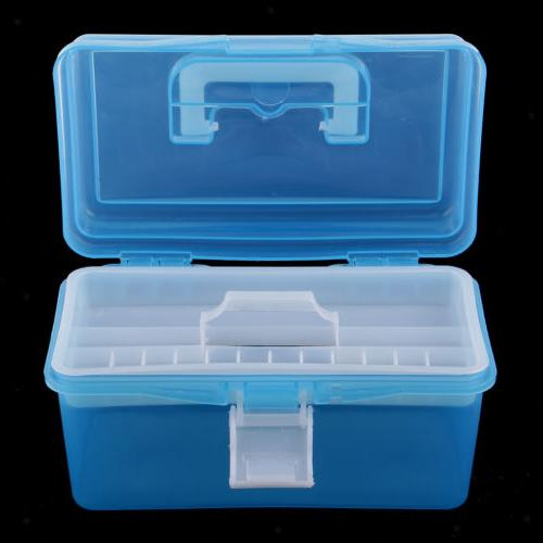 clear plastic storage boxes case tray