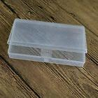 clear plastic transparent with lid storage box