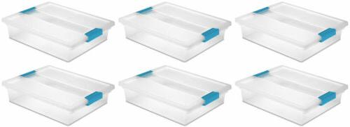 Sterilite Clip Box - Large - 6 Per Case
