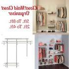 Closet Organizer ClosetMaid Shelf Wire Rack Kit Shelftrack 5