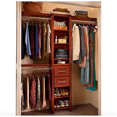 ClosetMaid System Kit Hanging Shelves