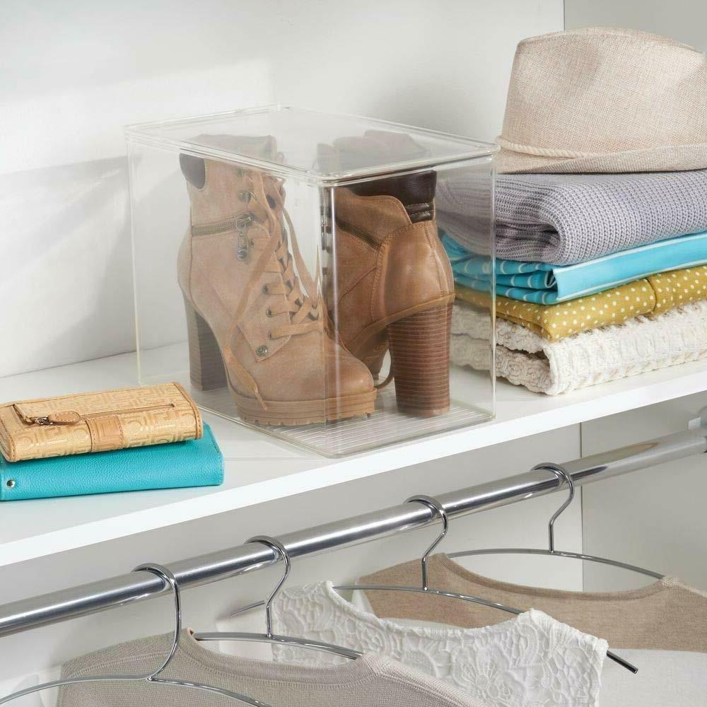 mDesign Closet Storage Shoe Heels, Tall (FL