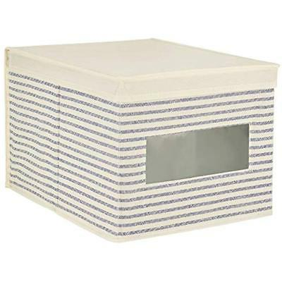 MDesign Systems Fabric Box With Clear