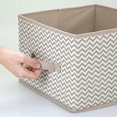 MDesign Fabric Organizer Cube Bin -