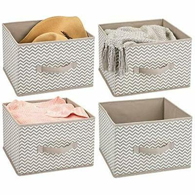 closet systems soft fabric storage organizer holder