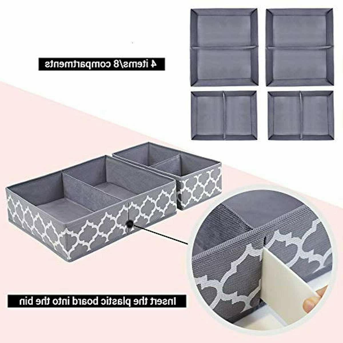 homyfort Clothes Dividers, Foldable Storage Box