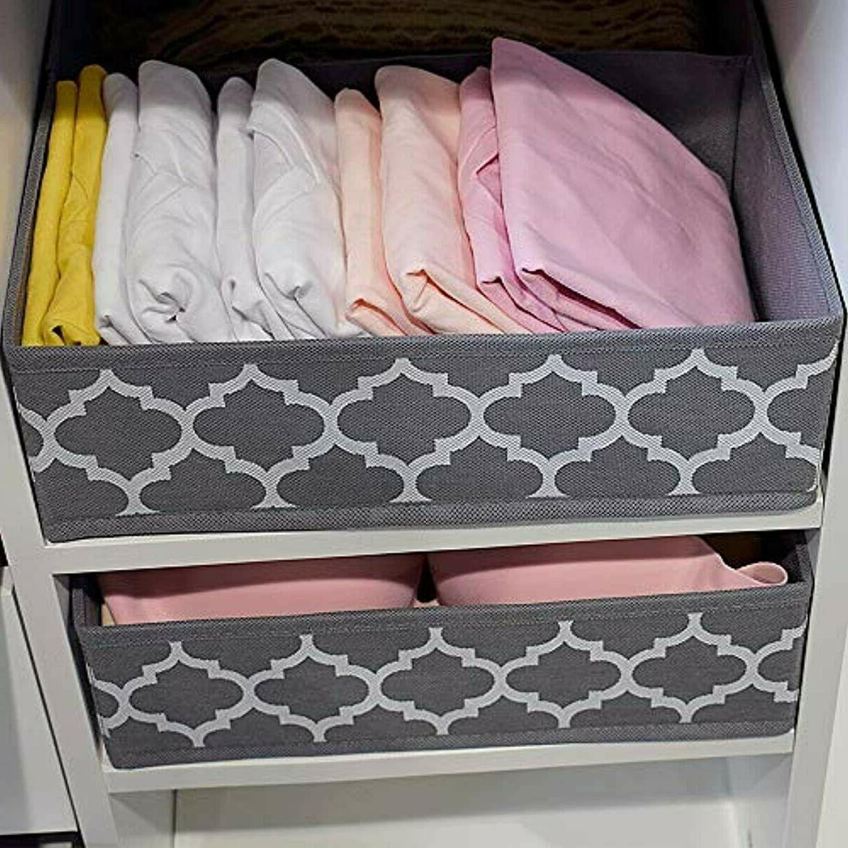homyfort Clothes Drawer Dividers, Storage