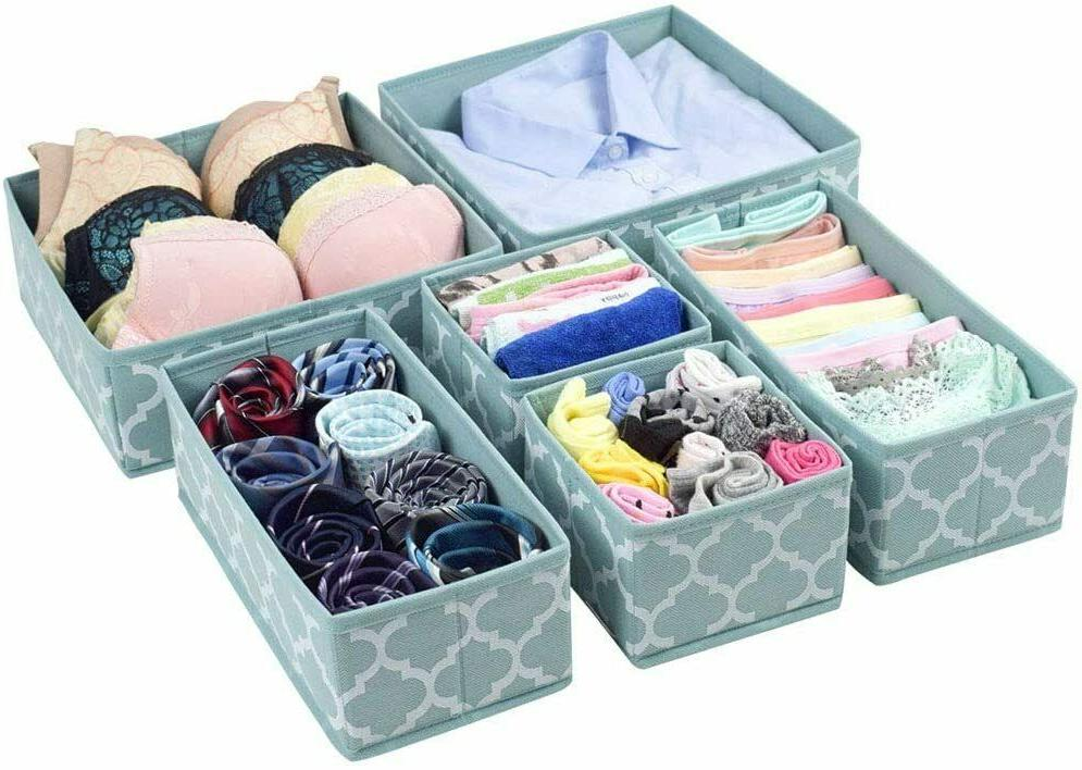 Clothes Drawer Closet Bins