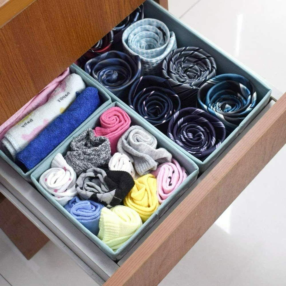 Clothes Organizer Closet Bins