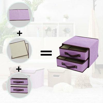 Cube Bin for Closet