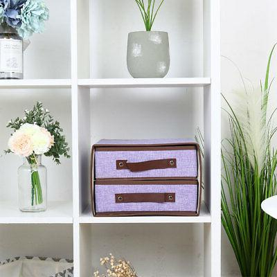 Collapsible Fabric Cube Bin for Organizer