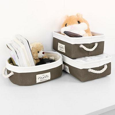 Collapsible Fabric Storage Bin Laundry Basket Toy Box Closet