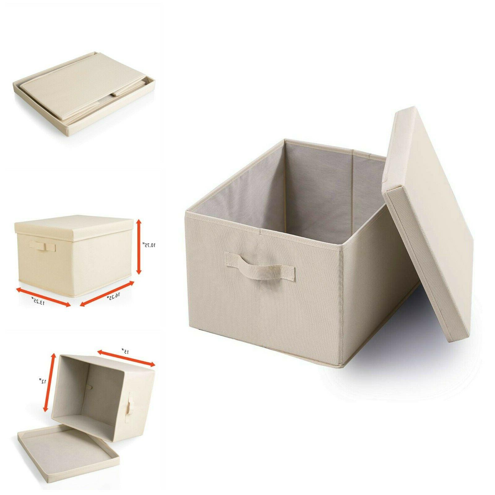 collapsible file storage linen filing organizer office
