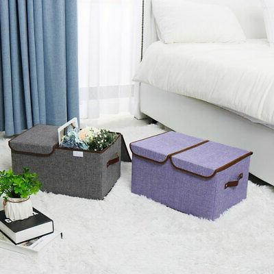 Collapsible Large Storage Bin Lids & Removable