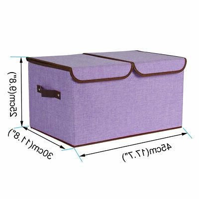 Collapsible Large Storage Bin Basket Cube