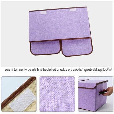 Collapsible Large Box Bin Basket Lids &