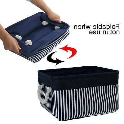Collapsible Storage Basket Container