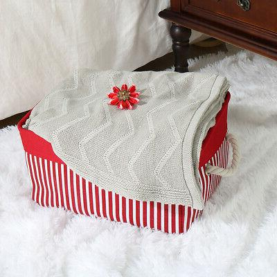 Collapsible Fabric Box Container