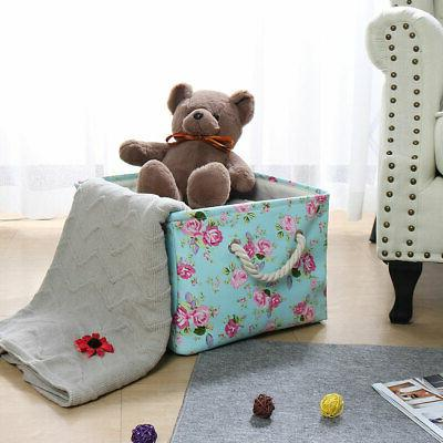 Fabric Toy Container for Shelves