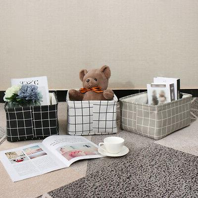 Collapsible Storage Basket Bin Container Shelves