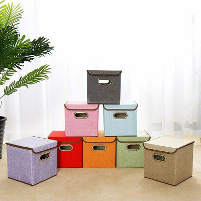 Collapsible Storage Fabric with & Metal Handles
