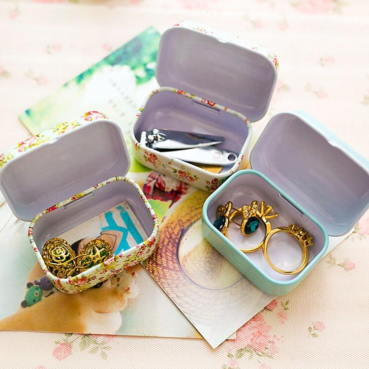 Colorful sealed jar packing jewelry, <font><b>storage</b></font> boxes cans earrings, headphones gift