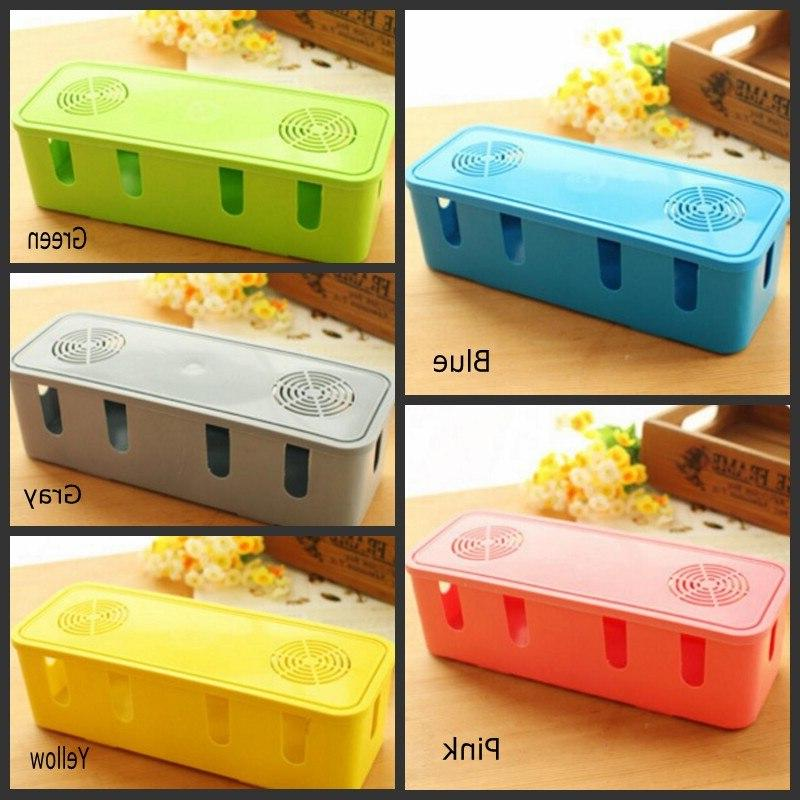 Creative <font><b>Home</b></font> Travel Convenient <font><b>Organization</b></font> Large Rectangular For Cable Sink With Hole
