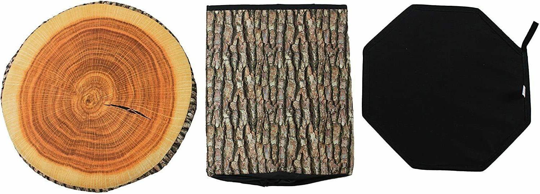 Creative Tree Storage Ottomans Clothing Box Folding with