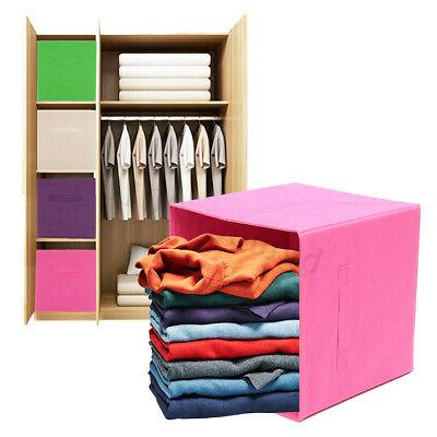 Cube Bin Canvas Organizer Shelf