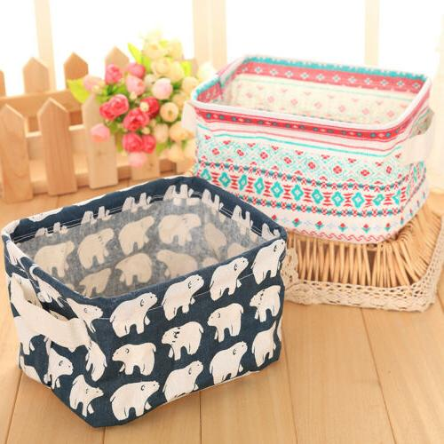 Cube Foldable Storage Bins Box Closet Container Fabric Drawers