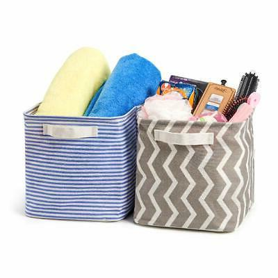 Cube Bin Collapsible Organizer with Handles