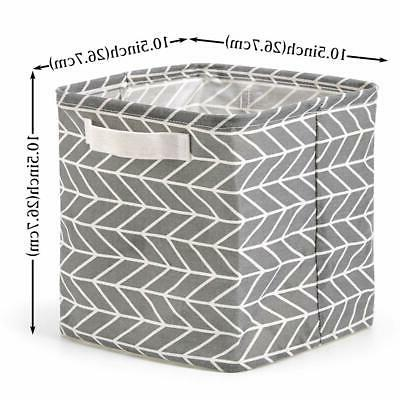 Cube Storage Collapsible Shelf Organizer Handles