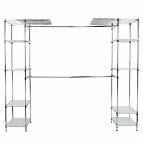 Custom Organizer System Kit Expandable Clothes Storage Rack