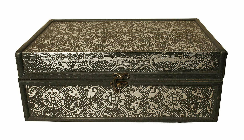 "Decorative Boxes "" 13"" Box/Trunk Home Kitchen"