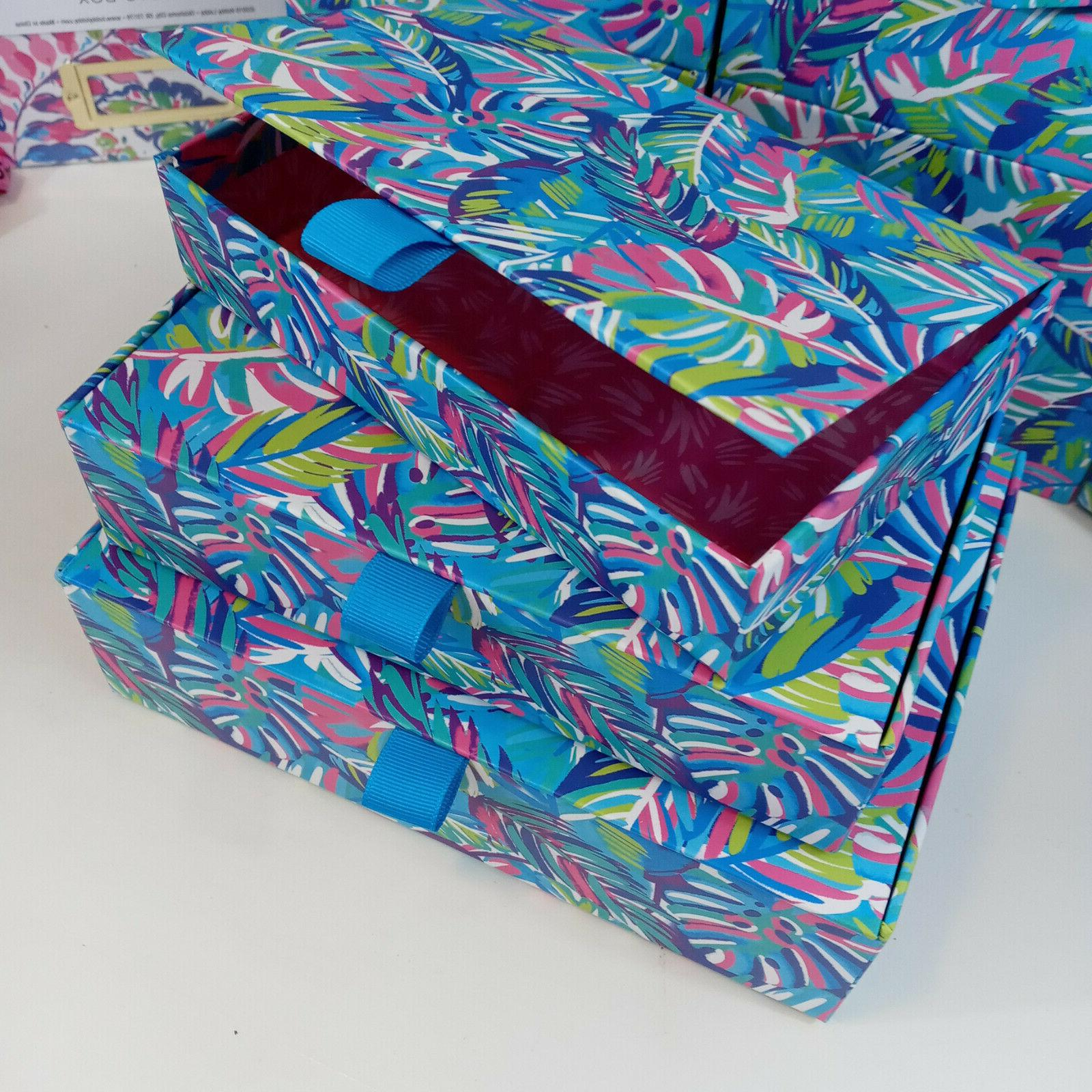 Decorative Box of 3 Stacking