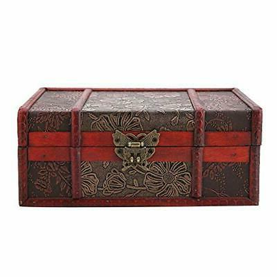 Decorative Treasure Box, Wooden Large Boxes for