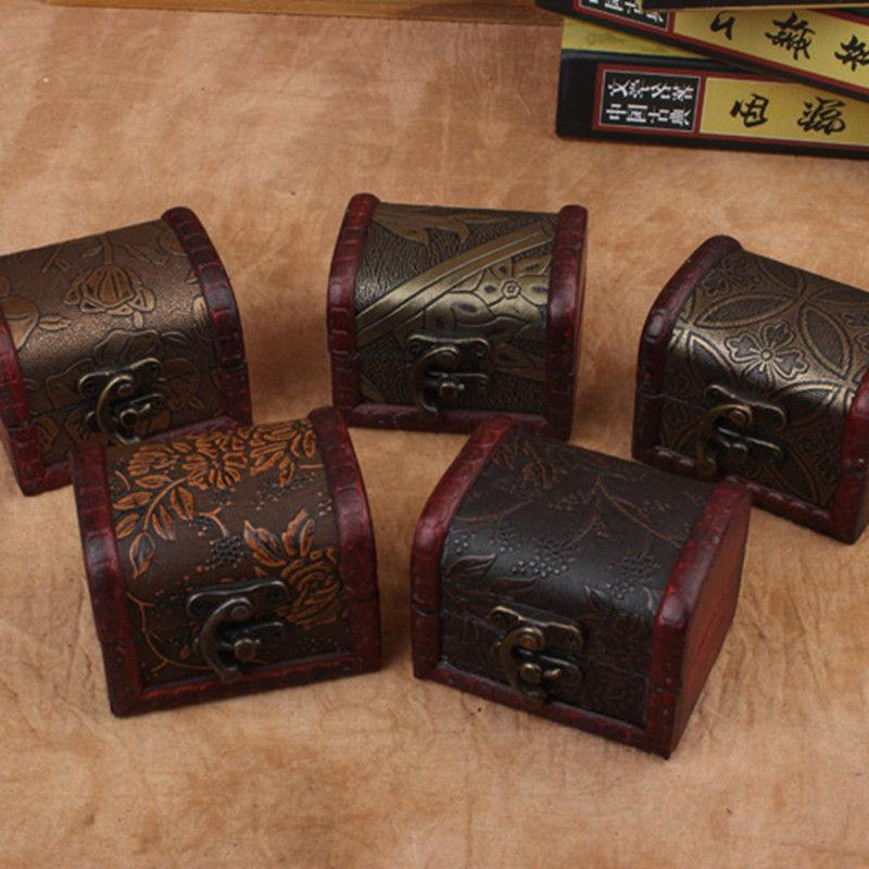 Decorative Vintage Trinket Small Storage Box