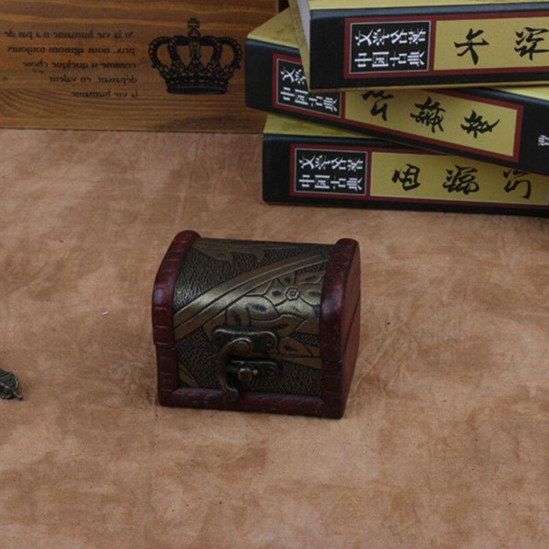 Decorative Trinket Small Storage Box Treasure Chest