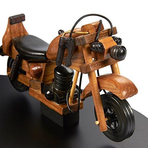 Juvale Motorbike Pen Holder - Motorcycle Design Art Pen x inches
