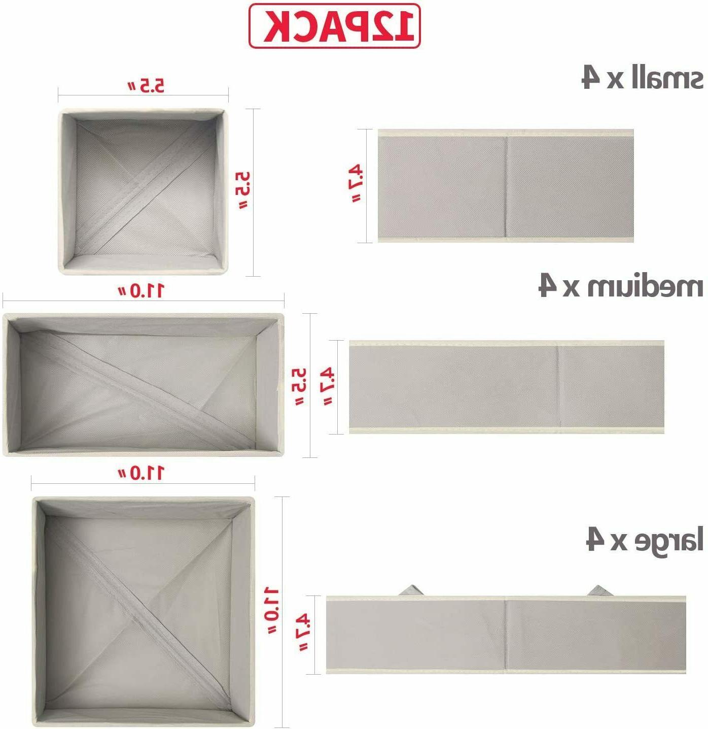 DIOMMELL Pack Cloth Dresser Drawer