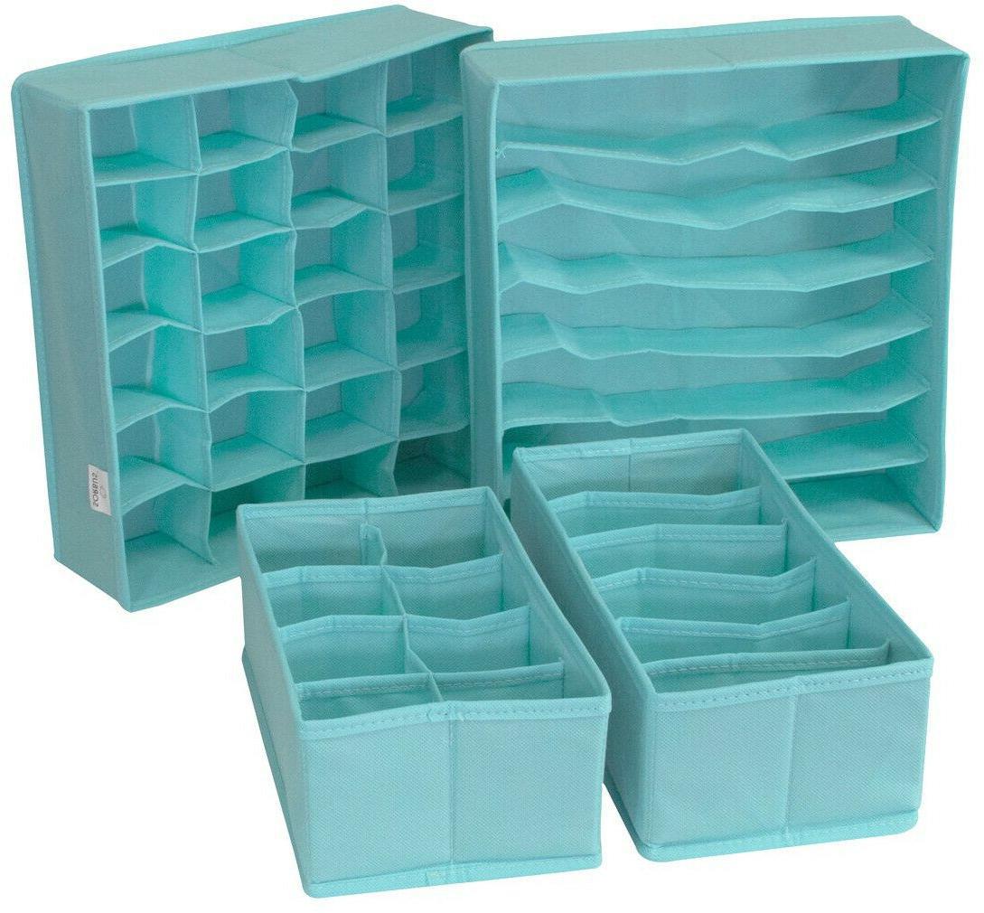 Drawer Divider Storage Box Closet Organizer Bin